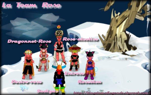 La Team Rose (serveur brumaire)