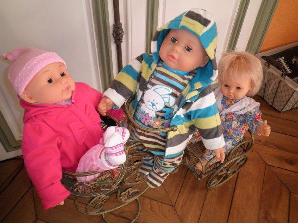 Hans, Aurélien et Cerise