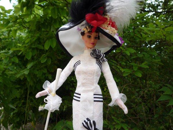 Quelques poupées Barbie de ma collection.