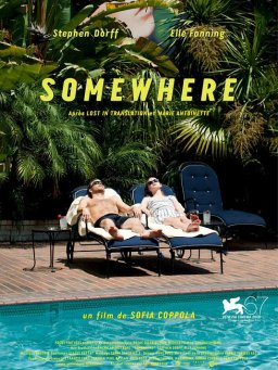 SORTIE DU JOUR: SOMEWHERE *** AU CINEMA