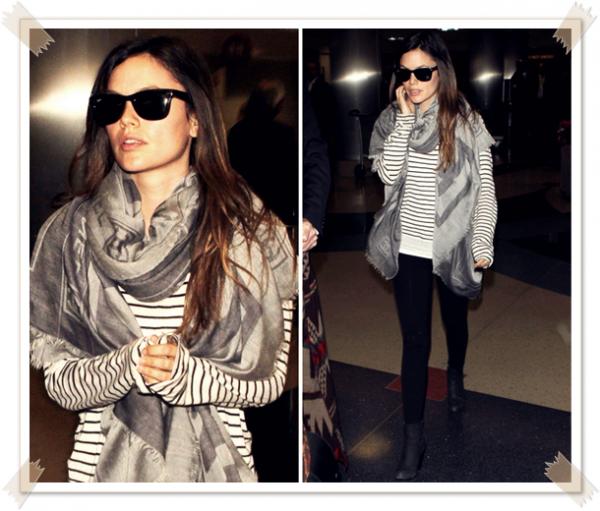 22 Février 2011 - Rachel arrive à l'aéroport de Los Angeles