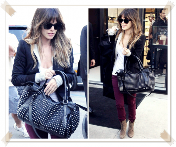 24 Février 2011 - Rachel quitte la boutique Chanel à Beverly Hills
