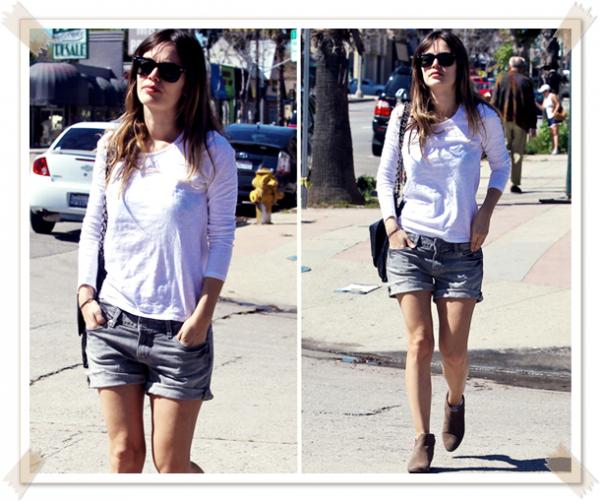 9 Mars 2011 - Rachel sort déjeuner à Sherman Oaks
