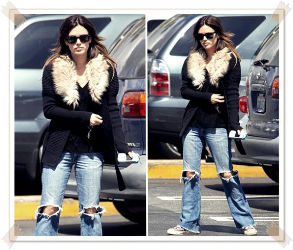 9 Avril 2011 - Rachel se rend au supermarché pour faire ses courses
