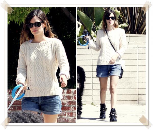 15 Avril 2011 - Rachel se rend boire un café à Los Feliz