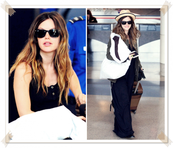 18 Avril 2011 - Rachel à l'aéroport de Los Angeles