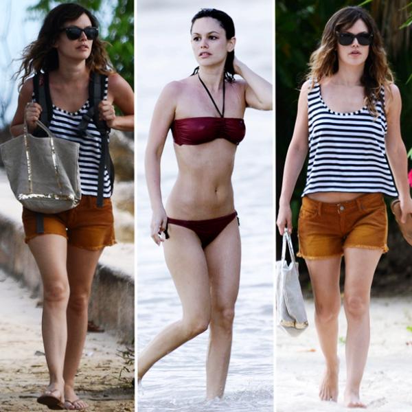 22/23 Avril 2011 - Rachel en vacances à la Barbade