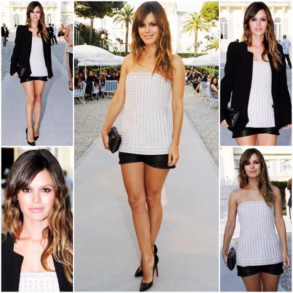 9 Mai 2011 - Rachel au défilé Chanel au Cap d'Antibes