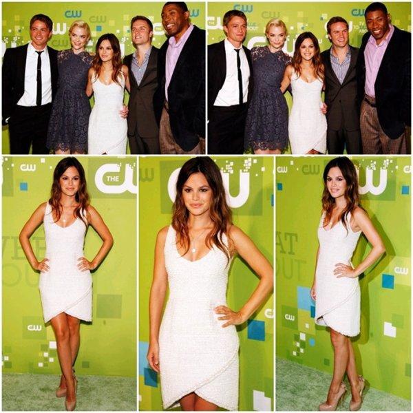 """19 Mai 2011 - Rachel et ses partenaires de sa nouvelle série """"Hart of Dixie"""" se sont rendus au CW's Upfronts à New York"""
