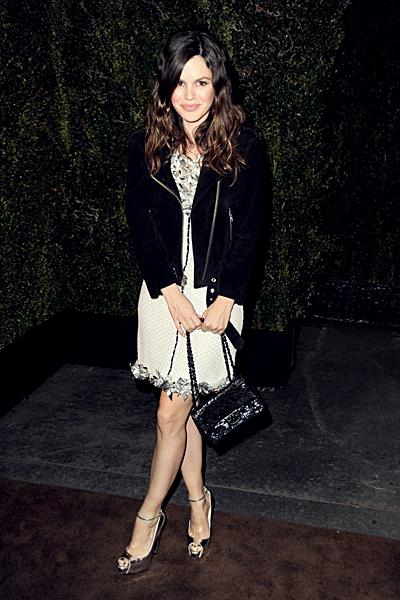 25 février - Rachel lors du dîner organisé par Chanel au restautant Madeo avant la cérémonie des Oscars le 25 février à Los Angeles