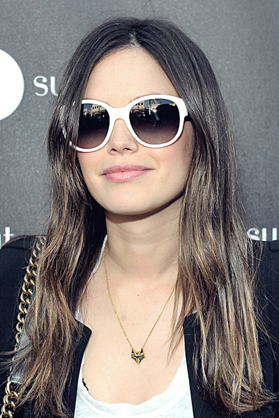 12 mars 2012 - Rachel au lancement de la ligne Printemps de la collection Sunglass Hut à L.A