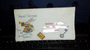Echange d'enveloppe