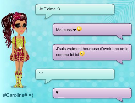 J'adore nos petites conversations *-* ♥