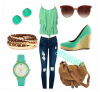 Idée Tenue 1 by Polyvore : Summer !