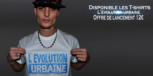 T-shirts L'évolution urbaine