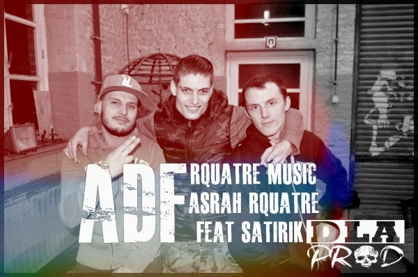 "Nouveau - R4 musiC ft satirik Asrah R4 "" ADF "" (2015)"