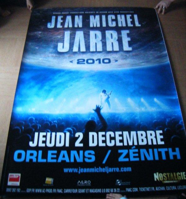 """jean michel jarre -""""2010"""" Orléans."""