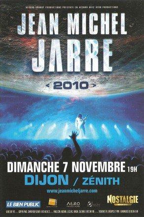 """jean michel jarre -""""2010"""" DIJON"""