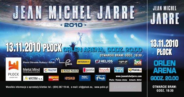 """jean michel jarre -""""2010"""" Płock"""