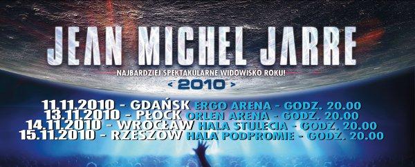 "jean michel jarre -""2010"" POLOGNE"
