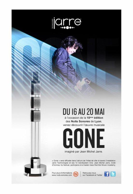 """Jean Michel Jarre à Lyon pour """"Les Nuits Sonores"""""""