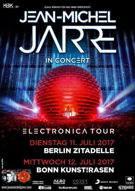 Jean Michel Jarre Electronica Allemagne Tour 2017