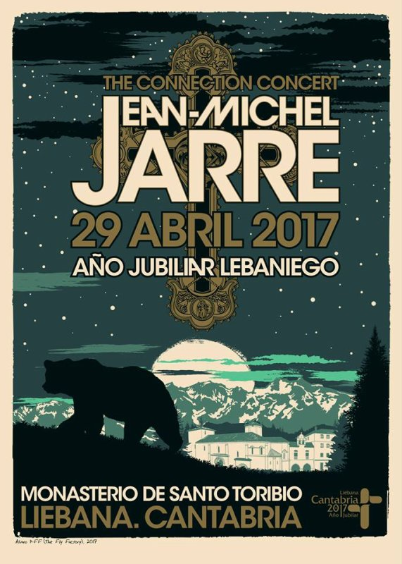 Jean Michel Jarre in Liebana | 29 abril 2017 | Año Jubilar Lebaniego