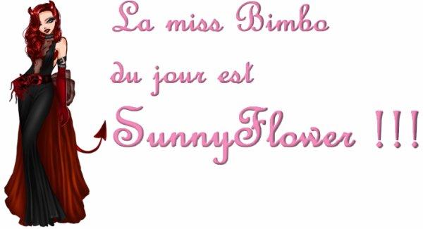 La miss bimbo du jour !! [Vendredi 2 Novembre 2012]