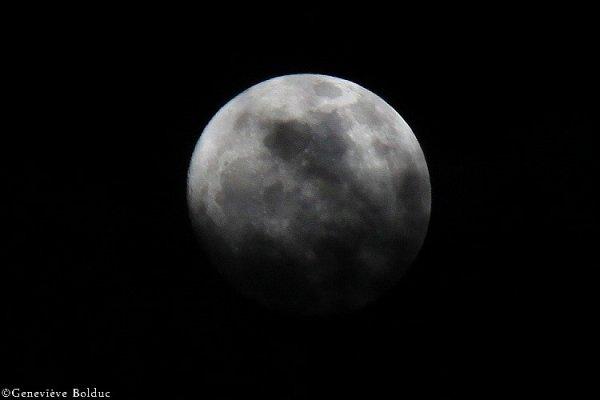 Les différentes lunes