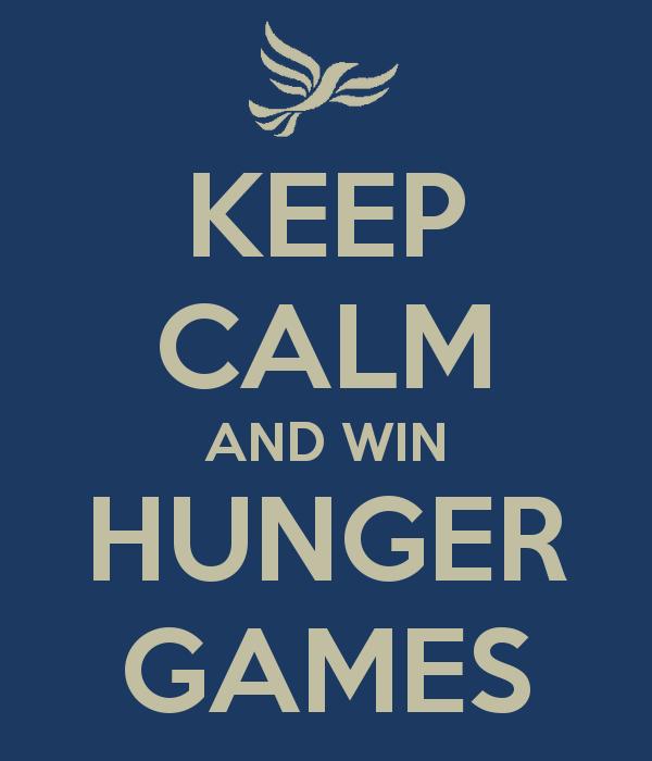 """Si un élève meurt durant l'année de terminal, toute la classe à le bac"""" Joyeux Hunger Games et puisse le sort vous être favorable."""