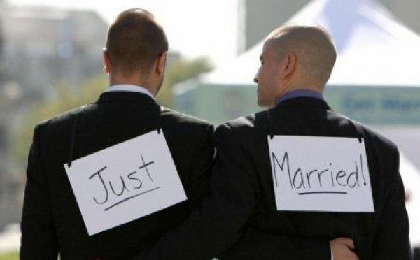 Mieux vaut un mariage gay, qu'un mariage triste.