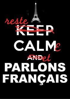 "Les stars qui disent: ""I love France"" Non, you love Paris, Yves Saint Laurent, Dior, Chanel. ""Do you like Normandie profonde?"" Okay? Donc ta gueule."