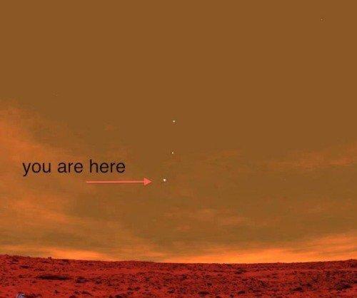 Tandis que Curiosity explore Mars. Connerie envahit tranquillement la Terre.
