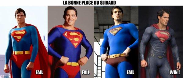 Si superman est si malin, pourquoi il met son slip au dessus de son pantalon?