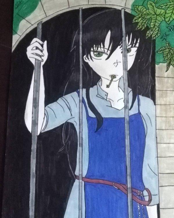 dernier dessin manga: le couvent des damnés