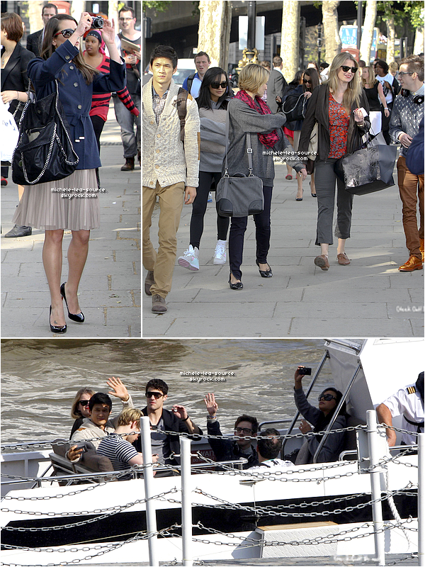 .   30/06/2011 : Le Glee Cast quittait Londres pour se rendre à Dublin en bateau.     .