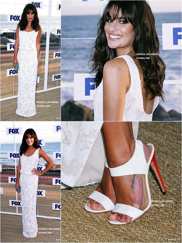 .  05/08/2011 : Lea a assisté aux Fox Summer TCA.    .