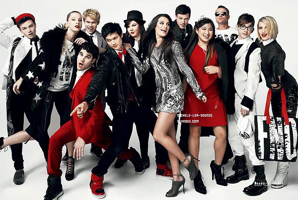 .   Promo pour la saison 3 de Glee.    .