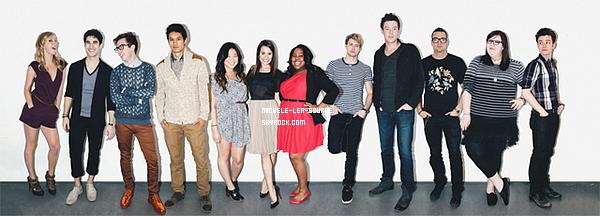 """.  Découvrez des scans du magazine """"Bliss"""" ou Lea et le cast y apparaissent.     ."""