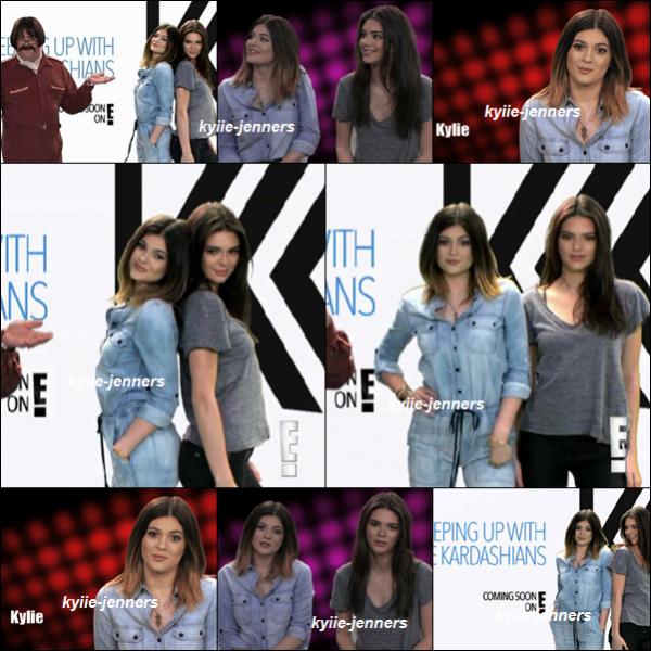 """Photos de la Bande Annonce sur E! pour voir l'émission """"Hello Ross"""" ou  Kylie & kendall"""