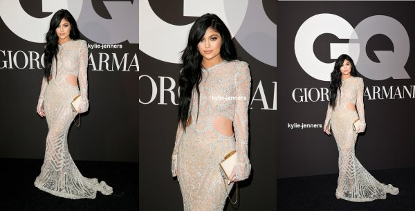 le 8 février 2015 - la princesse Kylie au GQ et Giorgio Armani est le Grammys After-Party