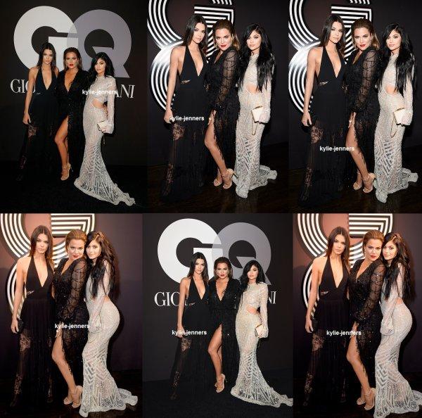 le 8 février 2015 - la princesse Kylie au GQ et Giorgio Armani est le Grammys After-Party