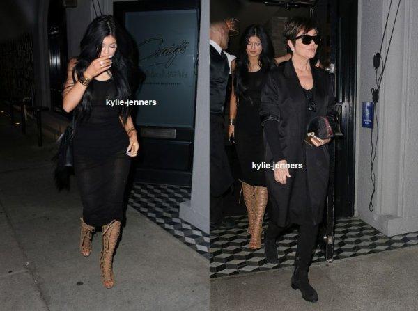 le 24 février 2015 - kylie a était veut sortie à West Hollywood