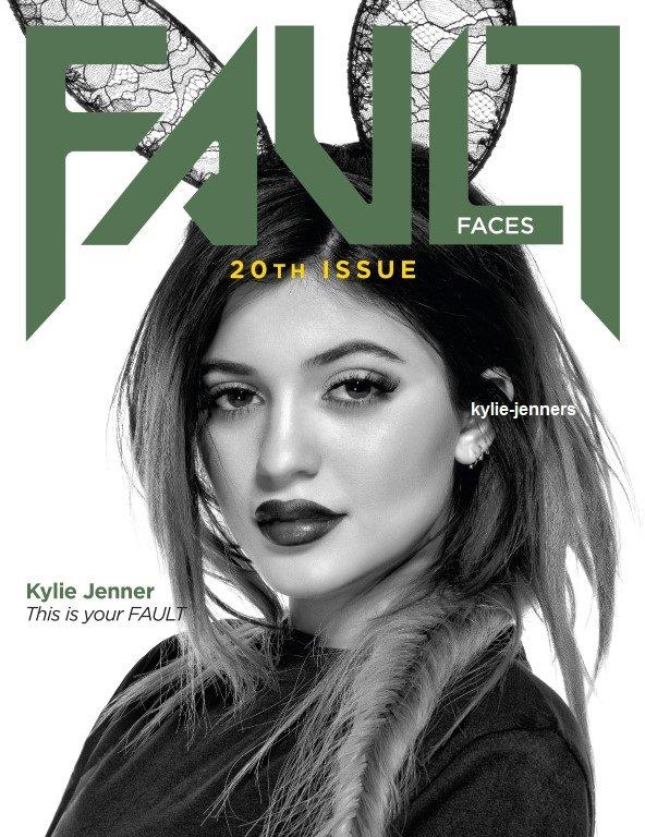 Kylie pour la couverture du Magazine DEFAUT