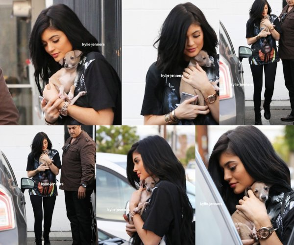le 25 mars 2015 - kylie dehors et environ à west hollywood , ca