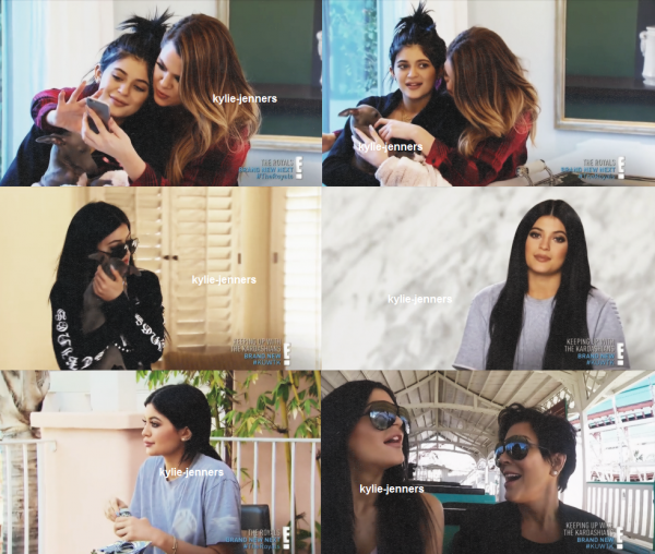 kylie dans Keeping Up With The Kardashians Saison 10 Episode 5