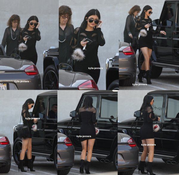 le 15 avril 2015 - Kylie arriver à Maxfields à West Hollywood, CA