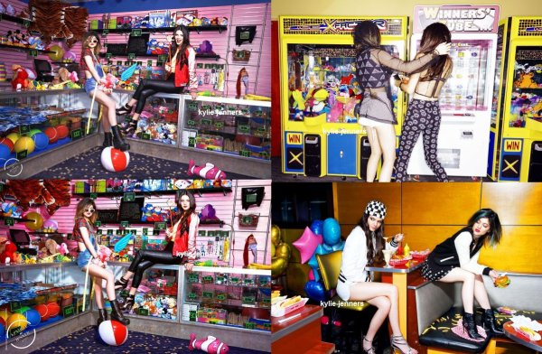 flash-back - voici un photoshoot sublime de kylie et kendall pour le magazine Steve Madden.