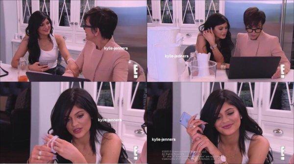 voici des photo de kylie dans Keeping Up With The Kardashians