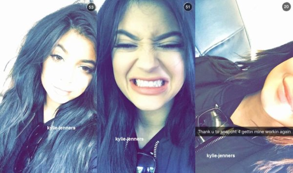 kylie sur snapchat